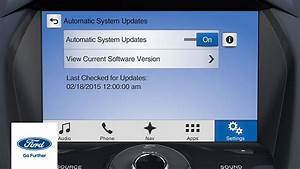 Ford Sync 3 : sync 3 automatic system updates sync 3 how to ford youtube ~ Medecine-chirurgie-esthetiques.com Avis de Voitures