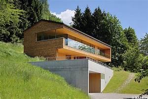 Garage Im Haus : radon photography norman radon haus im gro en walsertal ~ Lizthompson.info Haus und Dekorationen