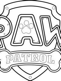 paw patrol kleurplaten gratis te printen
