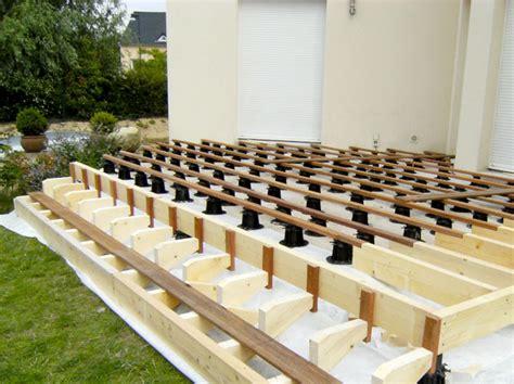 plots de terrasse r 233 glables spax espace bois 42