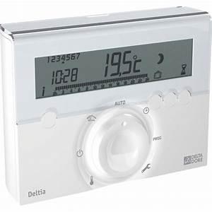 Thermostat Chaudiere Sans Fil : thermostat programmable filaire delta dore deltia ~ Dailycaller-alerts.com Idées de Décoration