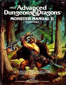 Ad U0026d Monster Manual Ii 1st Edition