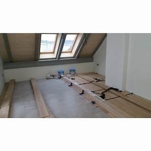 Rekonstrukce podlahy podlahové topení