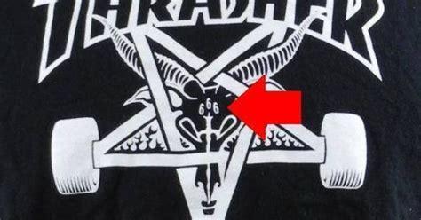 cultic advertising thrasher skateboard logo