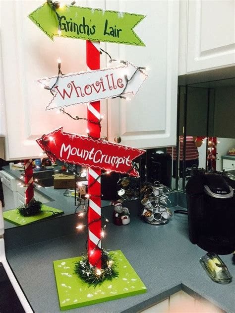 whoville christmas decorations ideas  pinterest