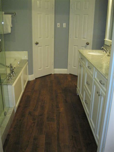 "My bathroom redo - American Tile and Stone Aspen ""Pecan"