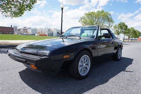 Fiat Bertone X19 For Sale by No Reserve 1986 Fiat Bertone X1 9 For Sale On Bat