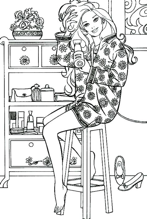 barbie coloring page coloring pages of epicness