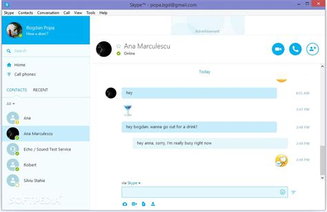 telechargement de skype bureau