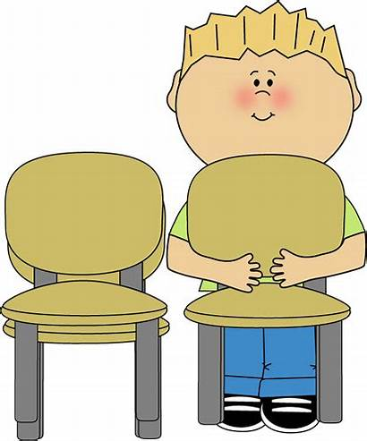 Classroom Clip Chair Clipart Push Jobs Stacker