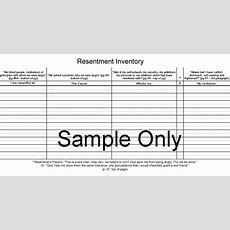 Alcoholics Anonymous Fourth Step Worksheet The Best Worksheets Image Collection  Download And