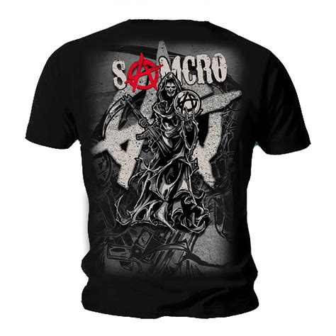 sons of anarchy kleidung spiral sons of anarchy unisex t shirt reaper montage crew samcro all sizes ebay