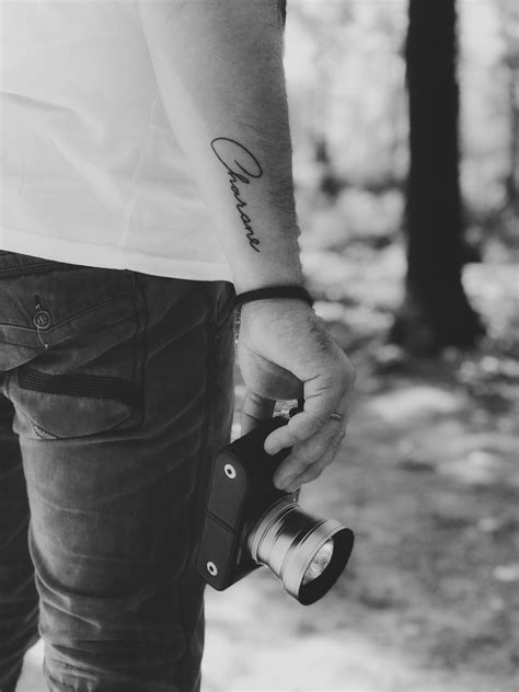 Name tattoo forearm for men | Cool small tattoos, Wrist