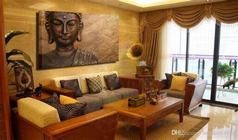 unframed prints painting single canvas buddha wall