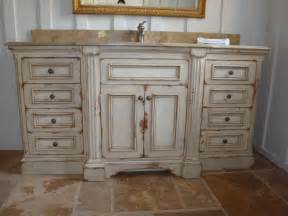 Refinishing Cabinet Doors Ideas by Distressed Bathroom Cabinets Home Design