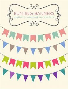 Royalty Free Images - Scrapbook Bunting Banners Pixel