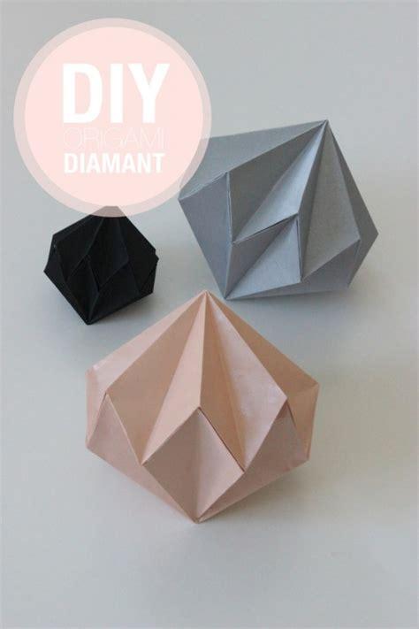 moi je fais 187 diy diamants en origami