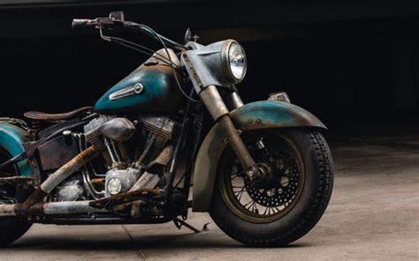 Harley Davidson Heritage Softail Custom Bobber Vintage
