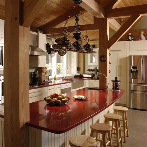 kitchen island post 13 best images about post beam kitchens on 1984