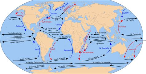 Global Currents Map   read my mind carbon tax the global