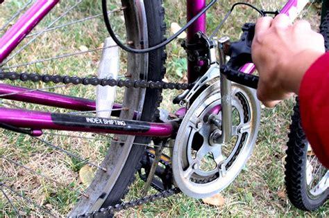 rust bike chain remove step