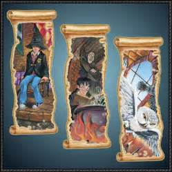 Harry Potter Printable Paper Bookmarks