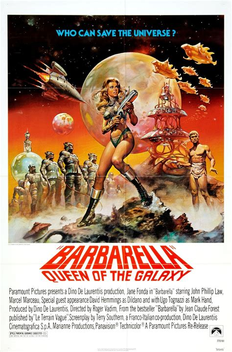 film reviews from the cosmic catacombs barbarella 1968 review