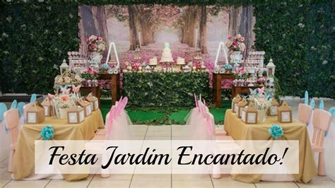 FESTA Jardim Encantado da Princesa Esther YouTube