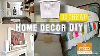 home decor cheap 32 Cheap home decor DIY ideas [New V.O] - YouTube