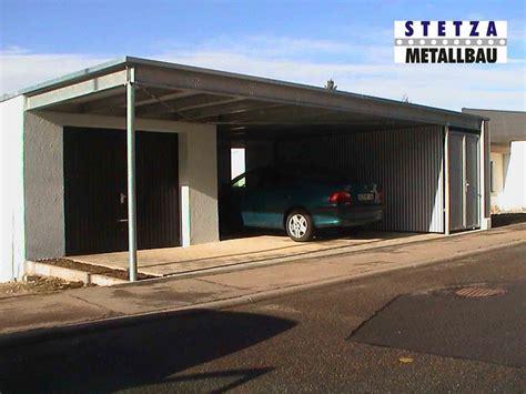 Carport Stetzametallbaude