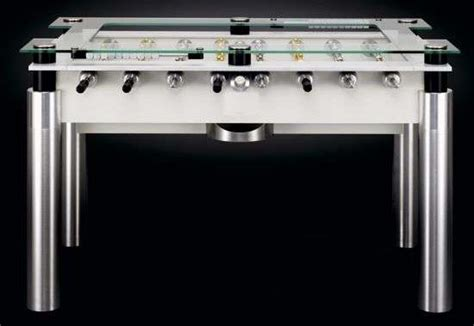 foosball table with glass top glass foosball tables custom lux minimalist game table is