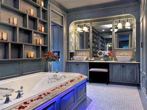 Spa-inspired Master Bathrooms