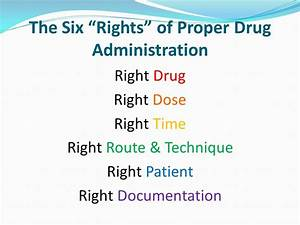 principles and methods of drug administration ppt video With 6 rights of medication