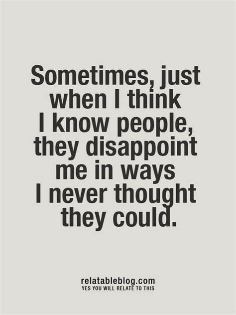 Quotes About Being Sorry For Disappointing Someone