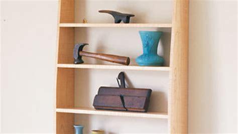 plan shaker inspired wall shelf finewoodworking