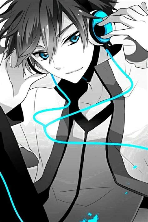 Anime Guy With Headphones Cool Anime Pictures Anime Boy