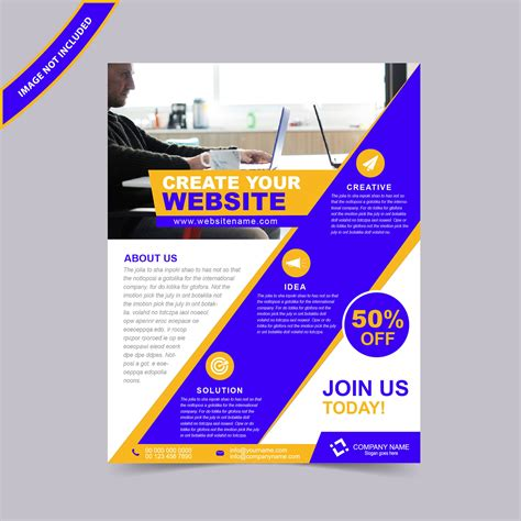 flyer design free web design flyer template free yourweek 7d9f9feca25e