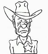 Cowboy Coloring Pages sketch template