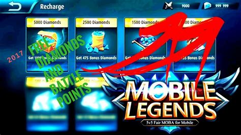 Mobile Legends How To Get Free Diamonds And Battle Points