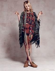 Mode Hippie Chic : mode photos anja rubik douce hippie chic pour free ~ Voncanada.com Idées de Décoration