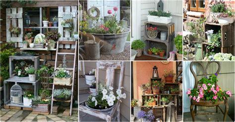 repurposed garden decor ideas   diy enthusiasts