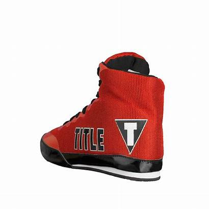 Boxing Shoes Title Champ Exploit Bout Heel