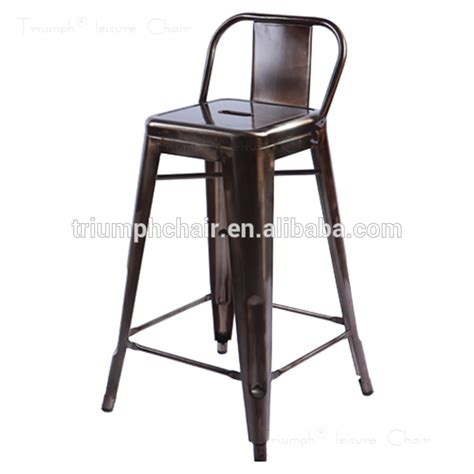 triumph high quality metal outdoor bar stools antique