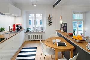 Cuisine Semi Ouverte Avec Bar : comment meubler votre cuisine semi ouverte ~ Melissatoandfro.com Idées de Décoration