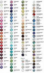 Executees.net - Swarovski Crystal Color Chart