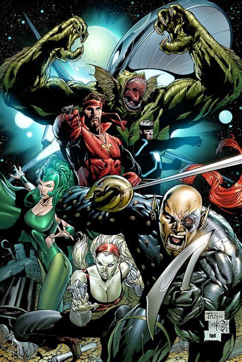 starjammers earth  marvel comics