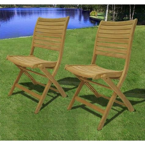 international home miami amazonia teak set of 2 dublin