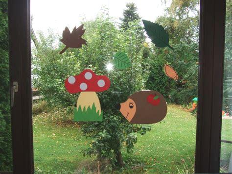 Herbstdeko Für Das Fenster Basteln by Vio Kunterbunt Herbstdeko