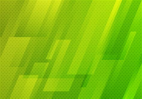 Abstract green geometric diagonal with dots pattern