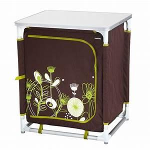 Meuble Rangement Camping : meuble rangement meuble camping bas chocolat trigano ~ Teatrodelosmanantiales.com Idées de Décoration